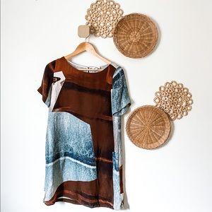 Wilfred Silk Dress, SZ S